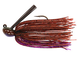 Matt's Cinnamon Purple Luke Clausen Casting Jig