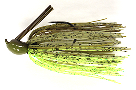 Dirty Chartreuse Luke Clausen Compact Pitchin' Jig