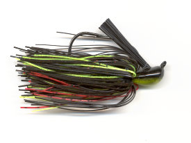 Black Neon Chartreuse Pitchin' Jig