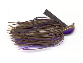 Purple Pond Bug Pitchin' Jig