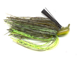 Dirty Chartreuse Pitchin' Jig