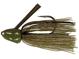Watermelon Red Flake No-Jack Punchin' Jig
