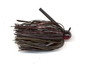 Black Neon Skirted Football Jig