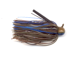 Pond Bug Skirted Football Jig