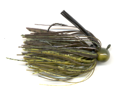 Definite Watermelon Skirted Football Jig