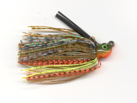 Green Sunfish Tour Level No-Jack Flippin' Jig