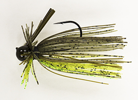 Dirty Chartreuse Luke Clausen Finesse Jig