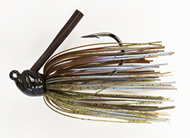 Magic Craw Red No-Jack Flippin' Jig