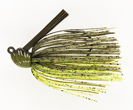 Dirty Chartreuse No-Jack Flippin' Jig
