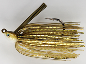 Golden Shiner No-Jack Swim Jig