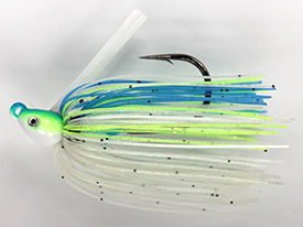 Citrus Shad No-Jack Swim Jig