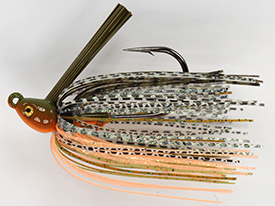 Pumpkinseed Bream No-Jack Swim Jig