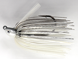 Pearl Ghost Shiner No-Jack Swim Jig