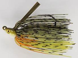 Yellow Perch No-Jack Swim Jig